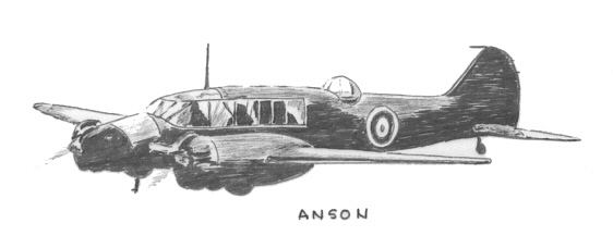 Anson - Art by Vic Campden MBE