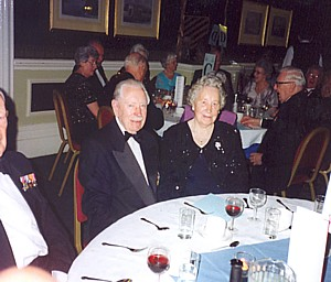 Saltire Branch member Bill Leckie and wife Ina